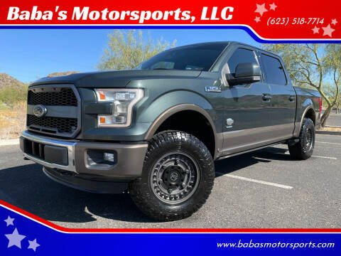 2015 Ford F-150 for sale at Baba's Motorsports, LLC in Phoenix AZ