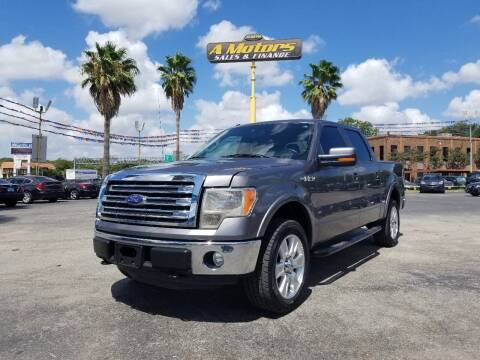 2013 Ford F-150 for sale at A MOTORS SALES AND FINANCE in San Antonio TX