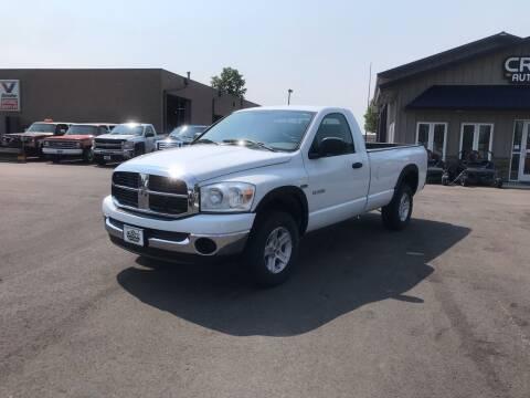 2008 Dodge Ram Pickup 1500 for sale at Crown Motor Inc in Grand Forks ND