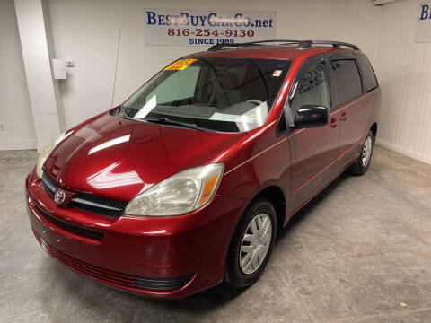 2005 Toyota Sienna for sale at Best Buy Car Co in Independence MO