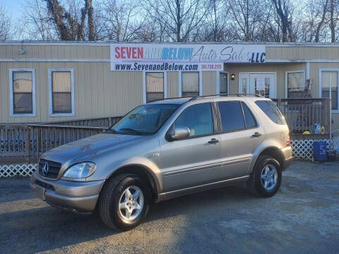 2001 Mercedes-Benz M-Class for sale at Seven and Below Auto Sales, LLC in Rockville MD
