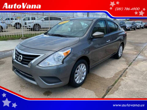 2015 Nissan Versa for sale at AutoVana in Humble TX