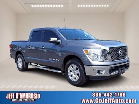 2018 Nissan Titan for sale at Jeff D'Ambrosio Auto Group in Downingtown PA