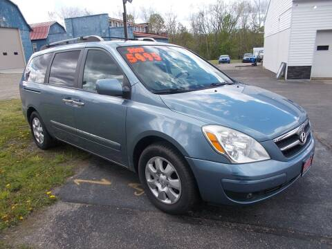 2007 Hyundai Entourage for sale at Dansville Radiator in Dansville NY
