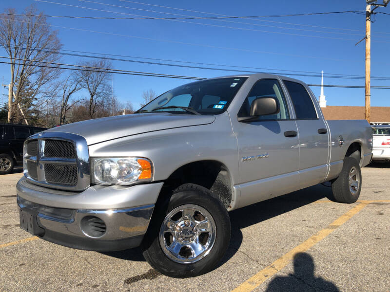 2004 Dodge Ram Pickup 1500 for sale at J's Auto Exchange in Derry NH