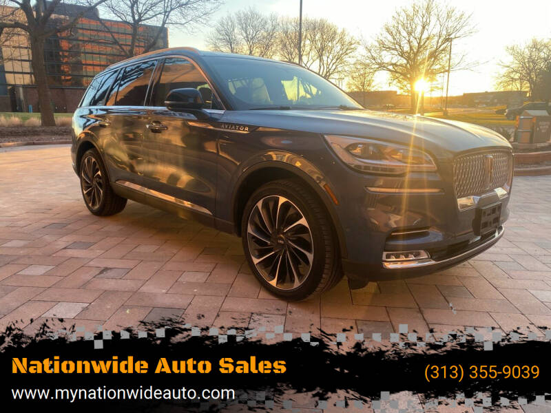 2020 Lincoln Aviator for sale at Nationwide Auto Sales in Melvindale MI