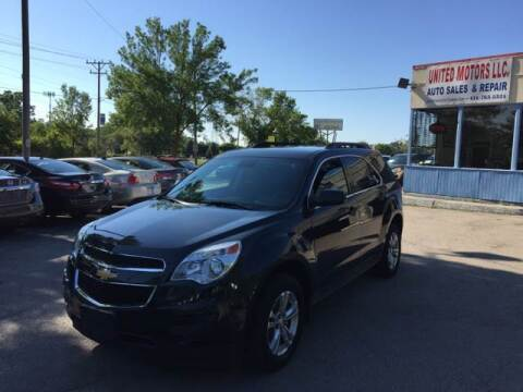 2013 Chevrolet Equinox for sale at United Motors LLC in Saint Francis WI