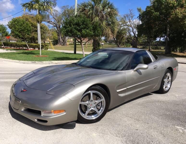 2000 Chevrolet Corvette for sale at FIRST FLORIDA MOTOR SPORTS in Pompano Beach FL