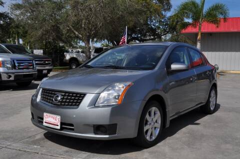 2007 Nissan Sentra for sale at STEPANEK'S AUTO SALES & SERVICE INC. in Vero Beach FL