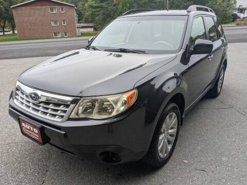 2012 Subaru Forester for sale at AUTO CONNECTION LLC in Springfield VT