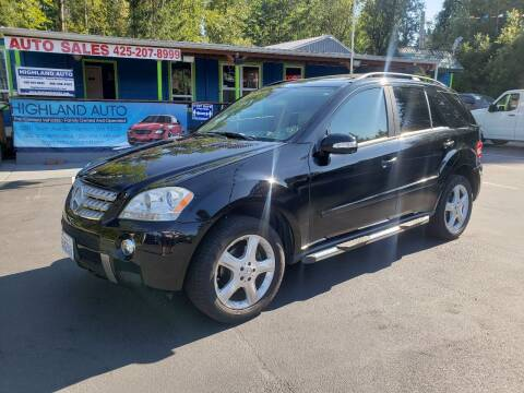 2006 Mercedes-Benz M-Class for sale at HIGHLAND AUTO in Renton WA
