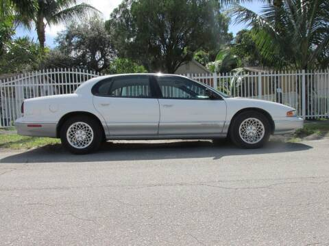 1996 Chrysler LHS for sale at TROPICAL MOTOR CARS INC in Miami FL