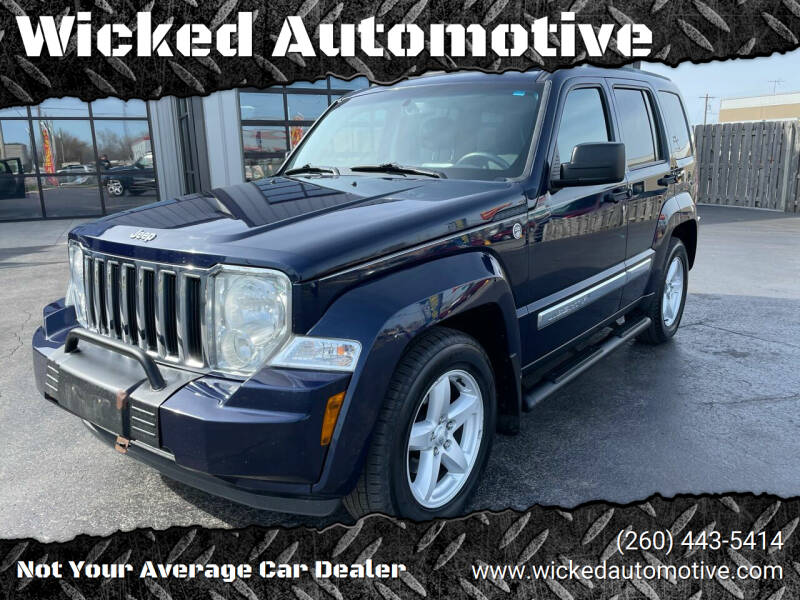 2012 Jeep Liberty for sale at Wicked Automotive in Fort Wayne IN