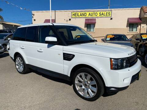 2013 Land Rover Range Rover Sport for sale at HEILAND AUTO SALES in Oceano CA