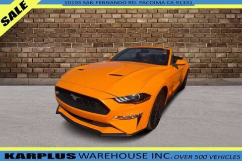 2018 Ford Mustang for sale at Karplus Warehouse in Pacoima CA