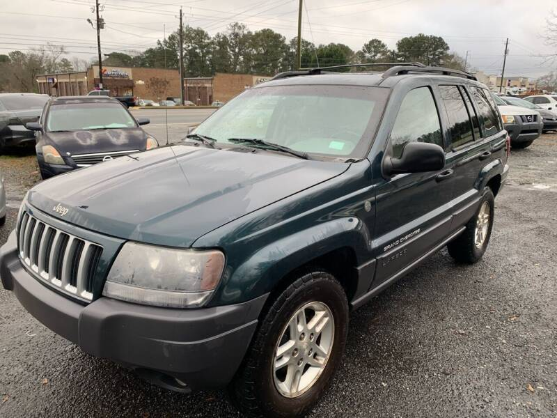 2004 Jeep Grand Cherokee for sale at CAR STOP INC in Duluth GA