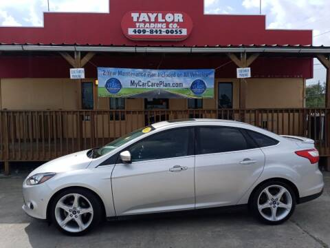 2013 Ford Focus for sale at Taylor Trading Co in Beaumont TX