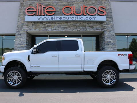 2021 Ford F-250 Super Duty for sale at Elite Autos LLC in Jonesboro AR