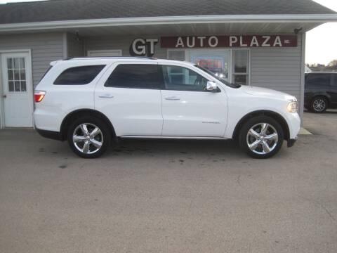2013 Dodge Durango for sale at G T AUTO PLAZA Inc in Pearl City IL