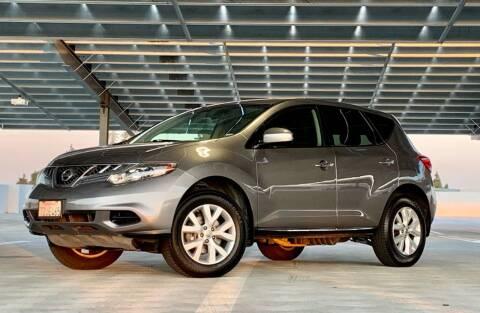 2012 Nissan Murano for sale at Car Hero LLC in Santa Clara CA