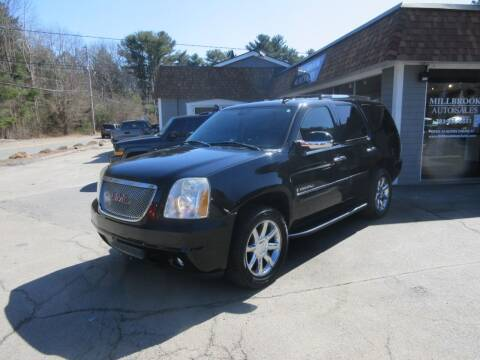 2007 GMC Yukon for sale at Millbrook Auto Sales in Duxbury MA