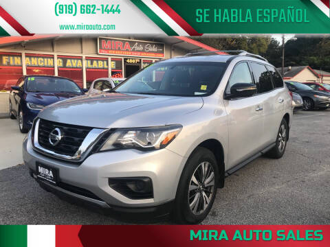 2017 Nissan Pathfinder for sale at Mira Auto Sales in Raleigh NC