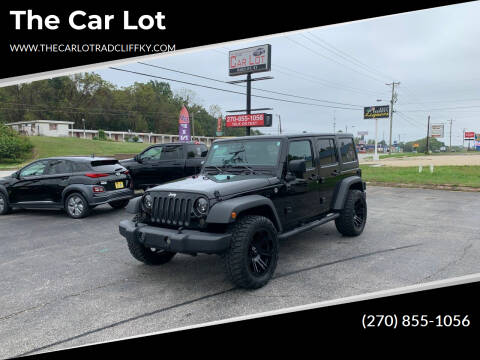2018 Jeep Wrangler JK Unlimited for sale at The Car Lot in Radcliff KY