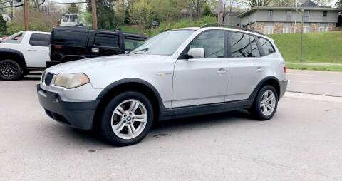 2005 BMW X3 for sale at North Knox Auto LLC in Knoxville TN