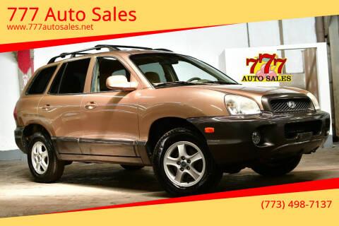 2003 Hyundai Santa Fe for sale at 777 Auto Sales in Bedford Park IL