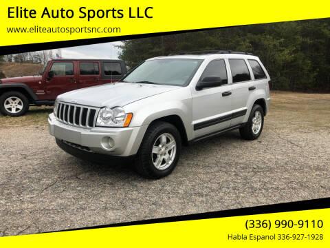 2005 Jeep Grand Cherokee for sale at Elite Auto Sports LLC in Wilkesboro NC