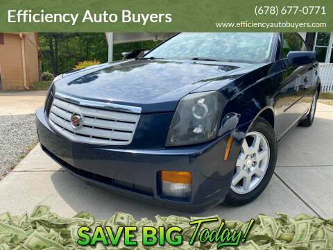 2006 Cadillac CTS for sale at Efficiency Auto Buyers in Milton GA