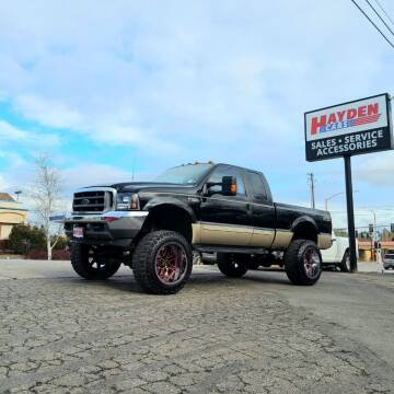 2000 Ford F-350 Super Duty for sale at Hayden Cars in Coeur D Alene ID