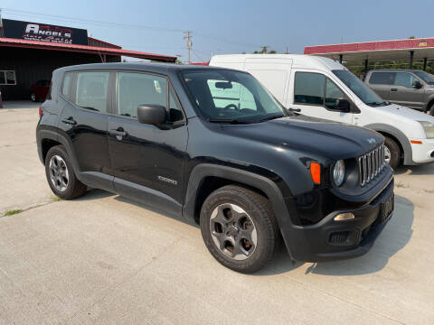 2015 Jeep Renegade for sale at Angels Auto Sales in Great Bend KS