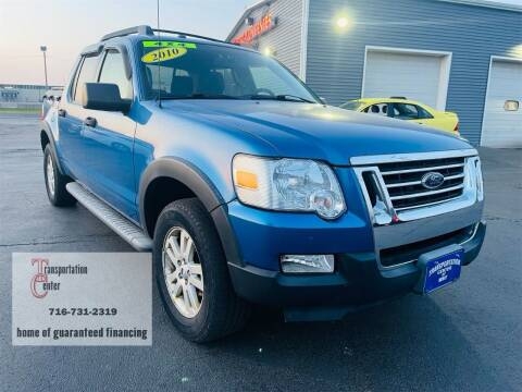 2010 Ford Explorer Sport Trac for sale at Transportation Center Of Western New York in Niagara Falls NY