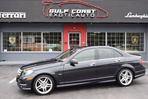 2012 Mercedes-Benz C-Class for sale at Gulf Coast Exotic Auto in Biloxi MS