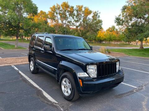 2012 Jeep Liberty for sale at QUEST MOTORS in Englewood CO