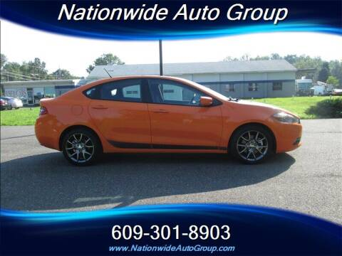 2013 Dodge Dart for sale at Nationwide Auto Group in East Windsor NJ