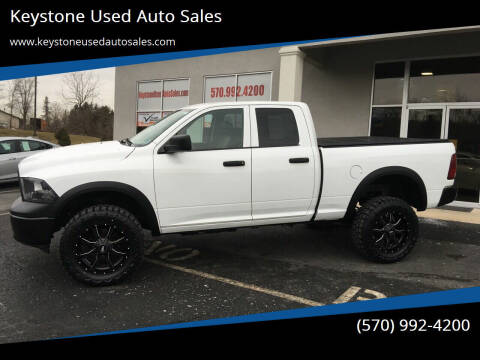 2010 Dodge Ram Pickup 1500 for sale at Keystone Used Auto Sales in Brodheadsville PA