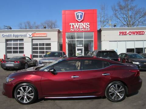 2016 Nissan Maxima for sale at Twins Auto Sales Inc - Detroit in Detroit MI