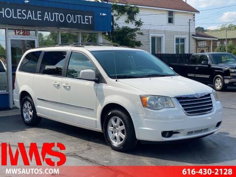 2010 Chrysler Town and Country for sale at MWS Wholesale  Auto Outlet in Grand Rapids MI