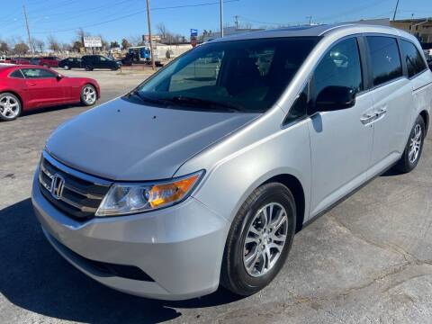 2012 Honda Odyssey for sale at Kasterke Auto Mart Inc in Shawnee OK