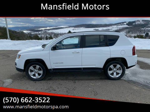 2016 Jeep Compass for sale at Mansfield Motors in Mansfield PA