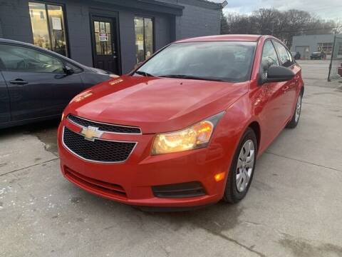 2014 Chevrolet Cruze for sale at Martell Auto Sales Inc in Warren MI