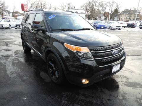 2011 Ford Explorer for sale at Grant Park Auto Sales in Rockford IL