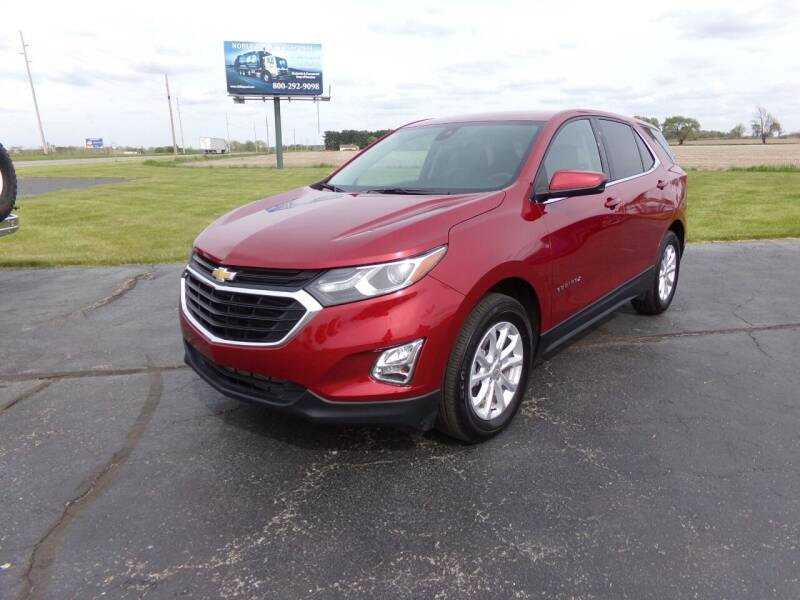 2020 Chevrolet Equinox for sale at Westpark Auto in Lagrange IN