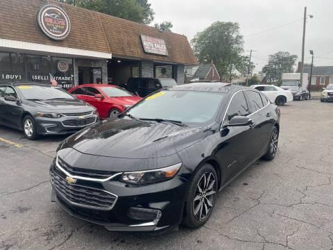 2018 Chevrolet Malibu for sale at Billy Auto Sales in Redford MI