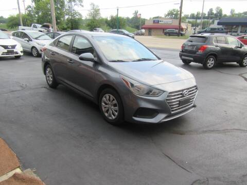 2019 Hyundai Accent for sale at Riverside Motor Company in Fenton MO
