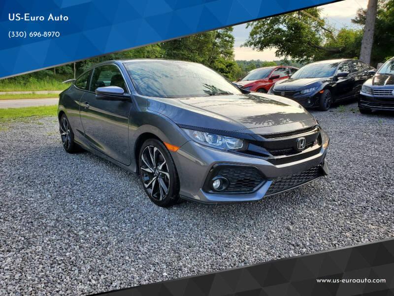2019 Honda Civic for sale at US-Euro Auto in Burton OH