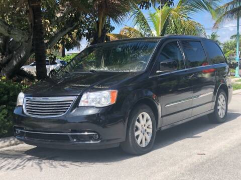2015 Chrysler Town and Country for sale at L G AUTO SALES in Boynton Beach FL