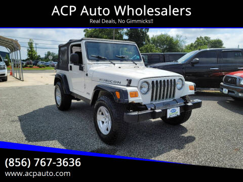 2006 Jeep Wrangler for sale at ACP Auto Wholesalers in Berlin NJ